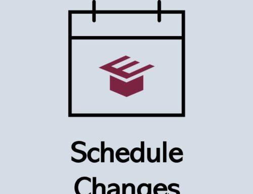 EDGE K-12 | Schedule Changes